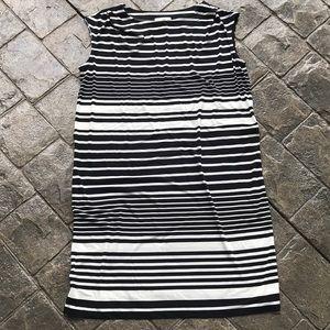 Ann Taylor LOFT black/white dress